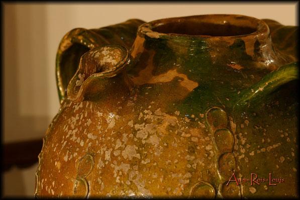 Cruche à huile – XIXᵉ siècle – Périgord – production Beauronne - Petit bec pincé
