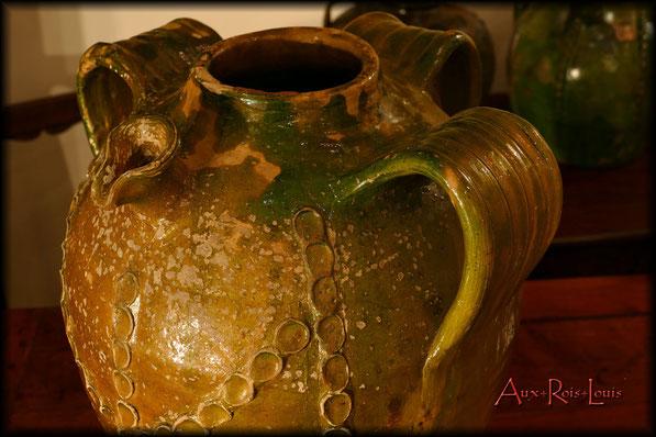 Cruche à huile – XIXᵉ siècle – Périgord – production Beauronne