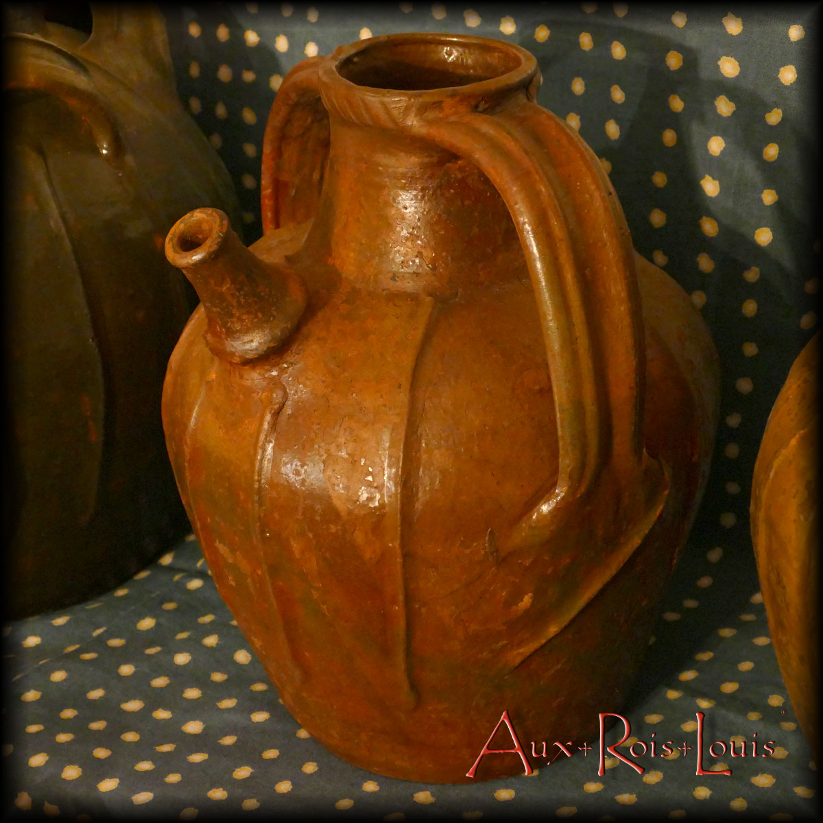 Cruche à huile – XIXᵉ siècle – Auvergne