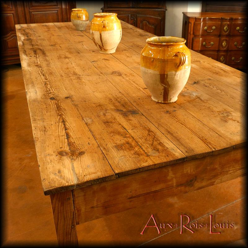 Table d'artisan drapier - XIXᵉ siècle - Pyrénées