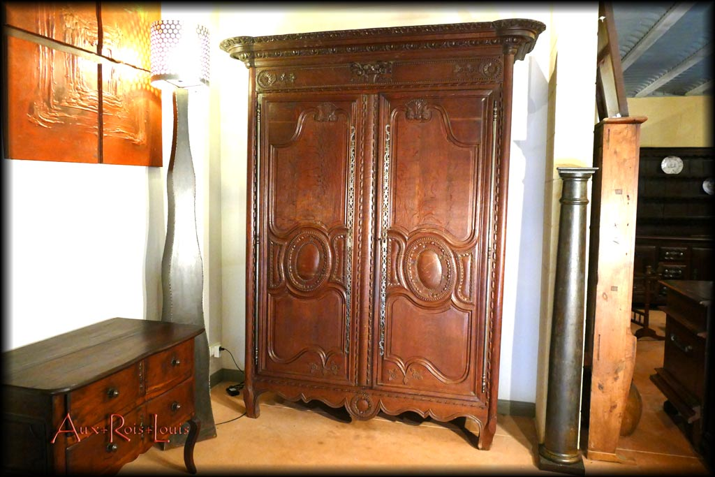 Normandy oak wardrobe – late 18ᵗʰ century – Pays de Caux