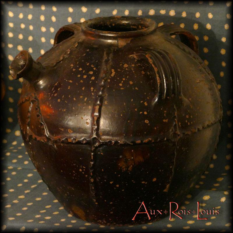 Rare cruche à huile – XIXᵉ siècle – Quercy