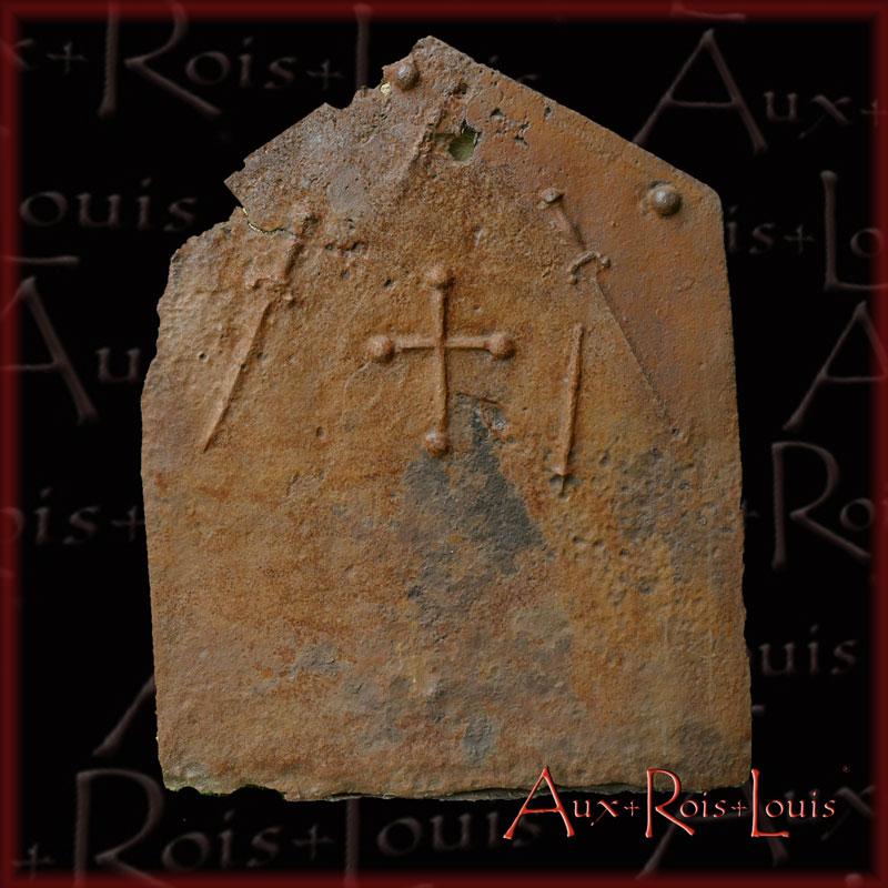 plaque de cheminée du XVIᵉ siècle