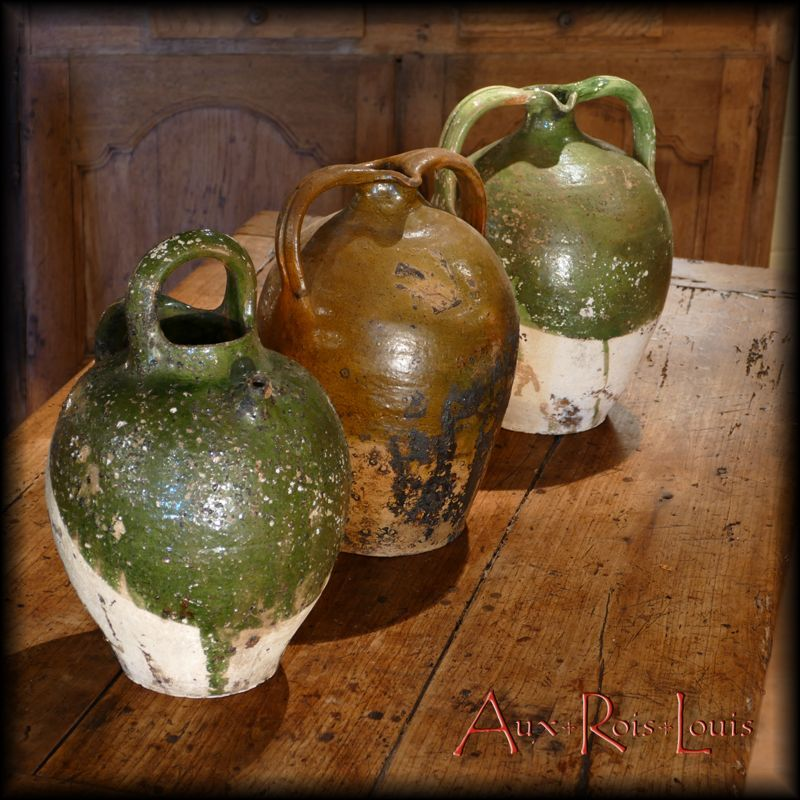 Three water jugs - 19ᵗʰ century - Périgord