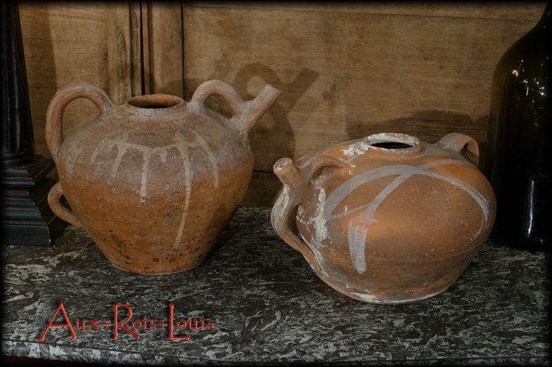 Two water jugs - 19ᵗʰ century - Midi-Pyrénées [PA036] [PA037]