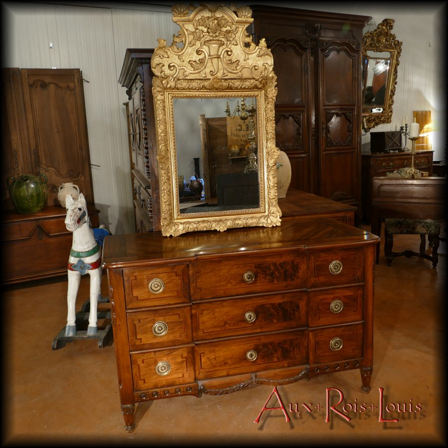 Louis XVI walnut chest of drawers – Late 18ᵗʰ century – Sud-Ouest – [ME039]