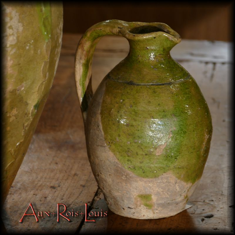"""Small jug or """"cruchon"""" intended for serving water at the table [PA040]"""