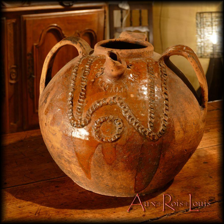 Oil jar - 19th century - Auvergne