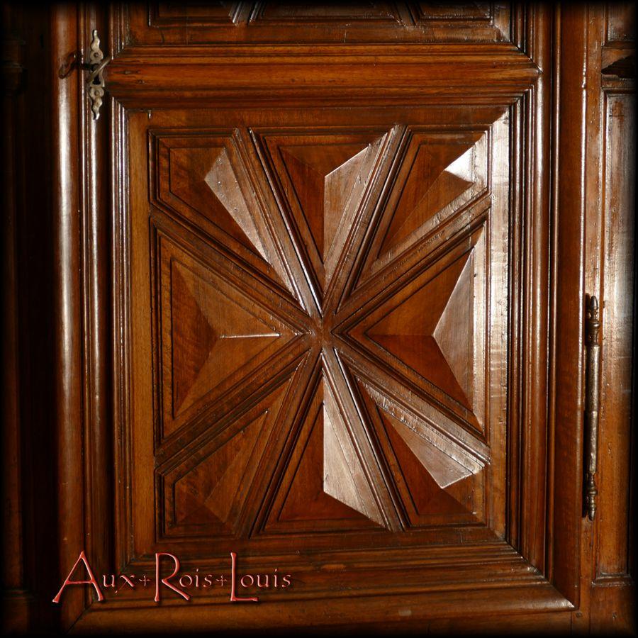 Maltese cross diamond points jutting out of doors