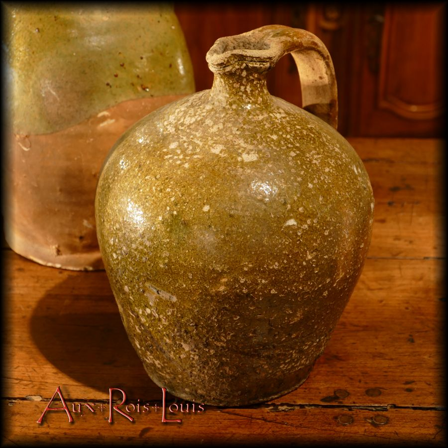 Cruchon pansu pour l'huile ou pour l'eau – [PA047]